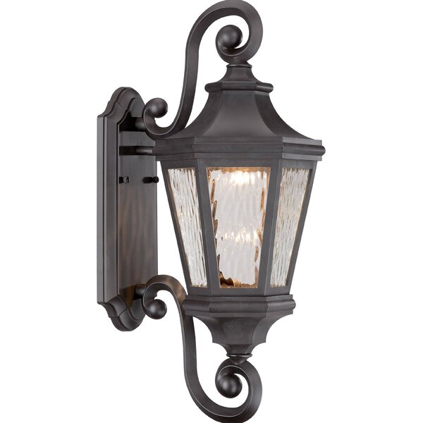 Deziree 1-Light Outdoor Wall Lantern by World Menagerie