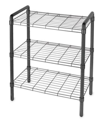Busby Quick Rack 30 H 3 Shelf Shelving Unit by Reb