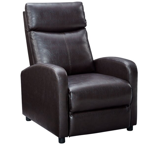 Manual Recliner Home Theater Individual Seating By Latitude Run