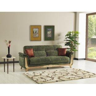 Mahurin 4 Piece Sleeper Living Room Set by Loon Peak®