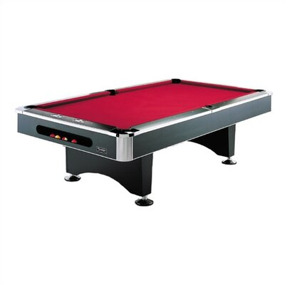 8u0027 Pearl Pool Table With Ball Return System