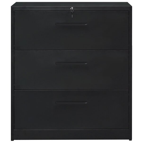 Alyese 3 Drawer Vertical Filing Cabinet