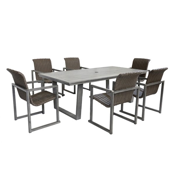 Simge 7 Piece Dining Set by Latitude Run