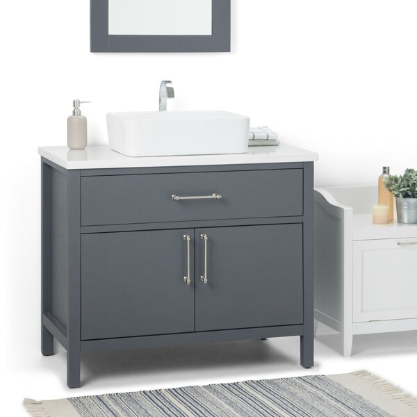 Patton 37 Single Bathroom Vanity by Simpli Home