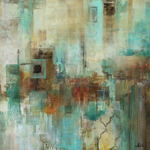 'Alluring Abstract I' Painting Print on Wrapped Canvas by Trent Austin Design