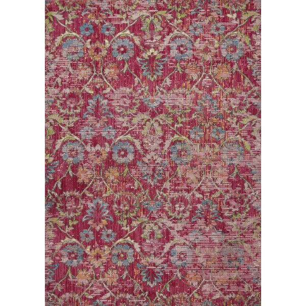 Cruise Pink Area Rug by Bungalow Rose