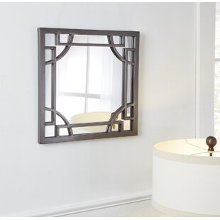 Winston Porter Middleville Square Wall Accent Mirror