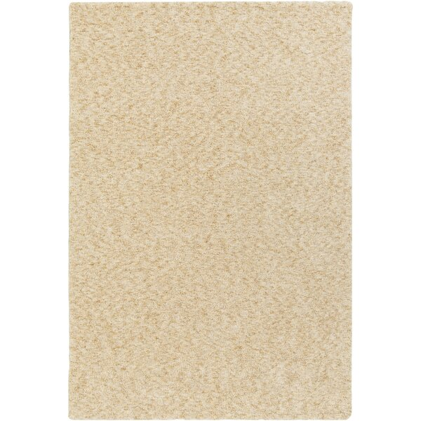 Daub Tan/Beige Area Rug by Breakwater Bay