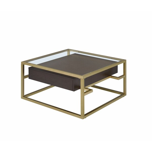 Armistead Coffee Table with Storage by Mercer41 Mercer41