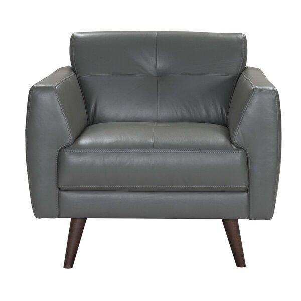 Todd Leather Armchair by Corrigan Studio Corrigan Studio