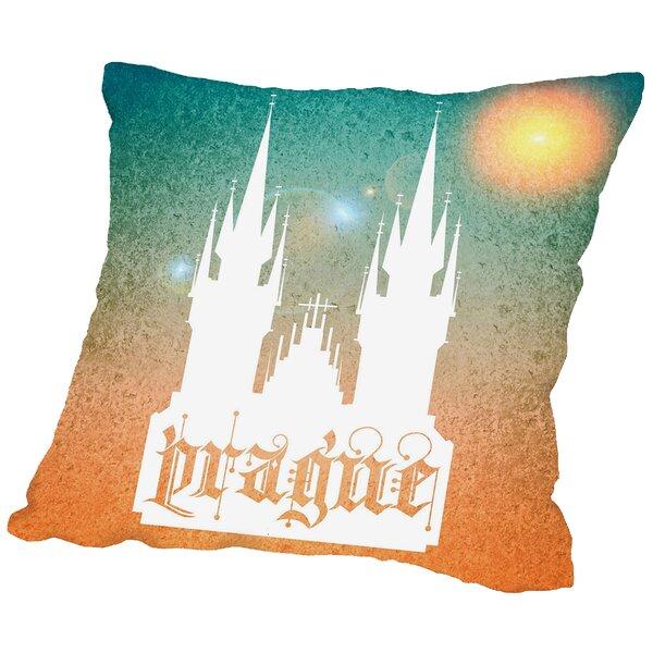 Prague Throw Pillow by East Urban Home
