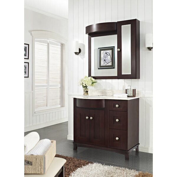 Kester Transitional 36 Rectangle Single Bathroom Vanity Set by Darby Home Co