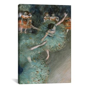 'Dancer 1880' by Edgar Degas Painting Print on Canvas by iCanvas