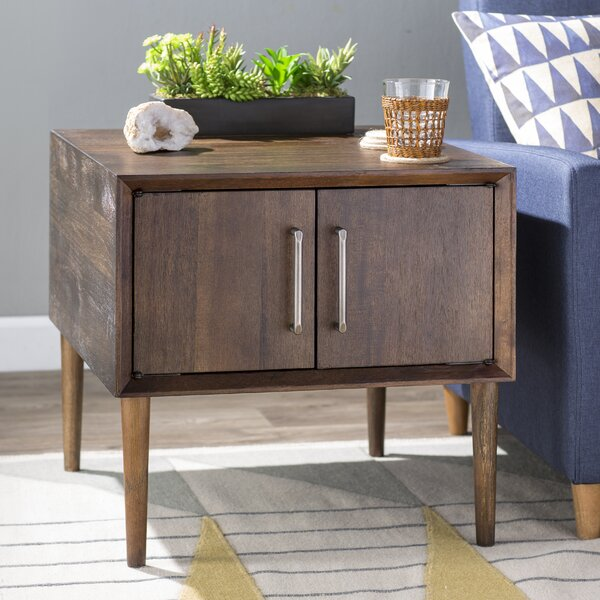 Napoleon End Table with Storage by Langley Street