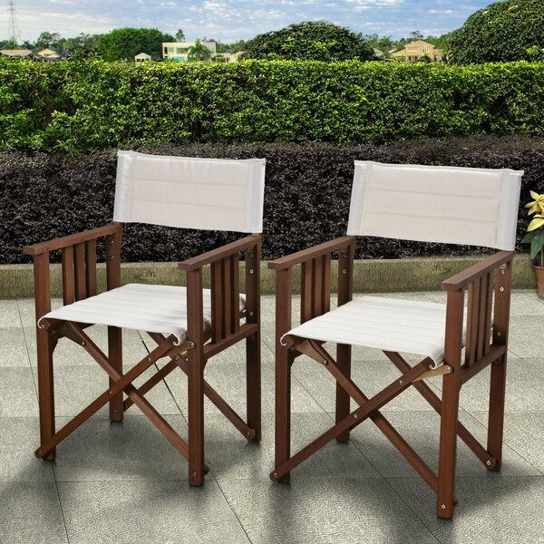 Sanor Patio Dining Chair (Set Of 2) By Beachcrest Home by Beachcrest Home Coupon