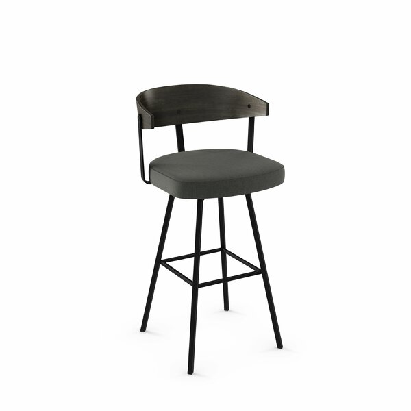 Amir 39.5 Swivel Bar Stool by Foundry Select