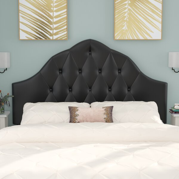 Joao Traditional Upholstered Panel Headboard by Willa Arlo Interiors