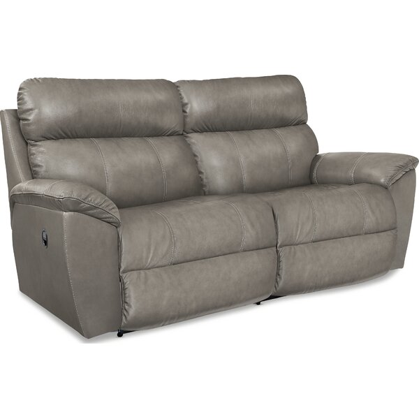 Roman Leather Reclining Sofa By La-Z-Boy