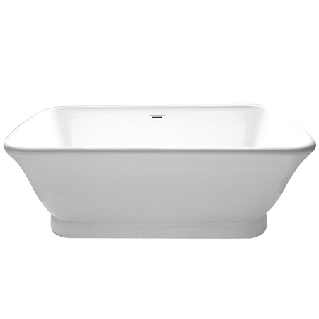 Aqua Eden 70 x 34  Freestanding Soaking Bathtub by Kingston Brass