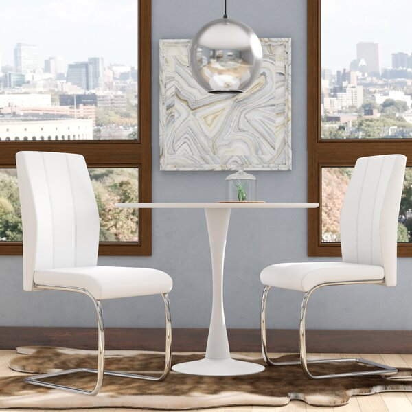 Mixon Upholstered Dining Chair (Set of 2) by Wade Logan