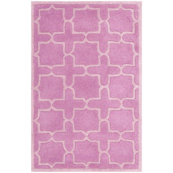 Wilkin Pink Area Rug by Wrought Studio