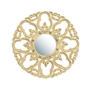 Fleur De Lis Living Domingues Carved Accent Mirror