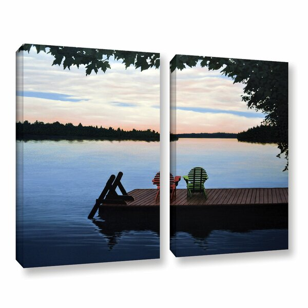 Tranquility by Ken Kirsh 2 Piece Photographic Print on Wrapped Canvas Set by ArtWall