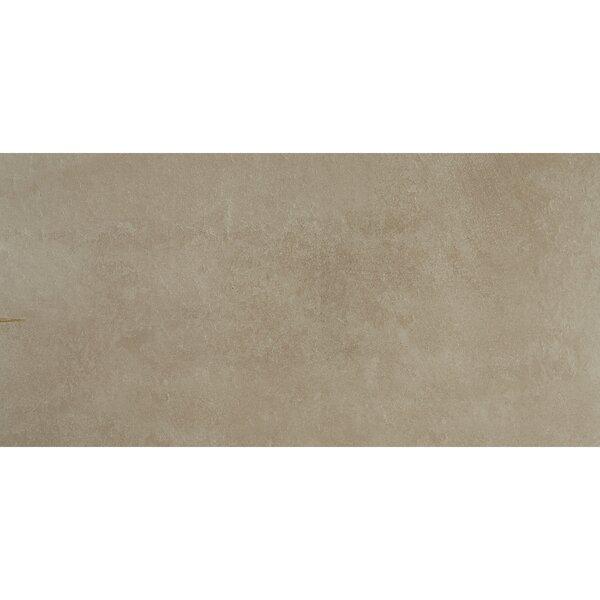 Slate Attaché 12 x 24 Porcelain Field Tile in Meta Beige by Daltile