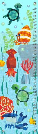 Marine Munchkins Growth Chart by Oopsy Daisy