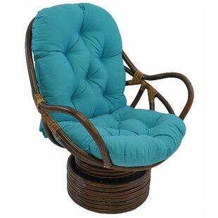 Teal Papasan Chair   Wayfair