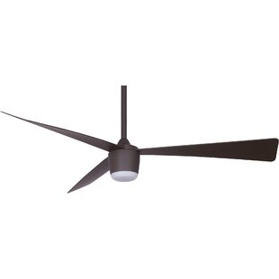Compare & Buy 52 Henking 3 Blade LED Ceiling Fan with Remote By Ivy Bronx