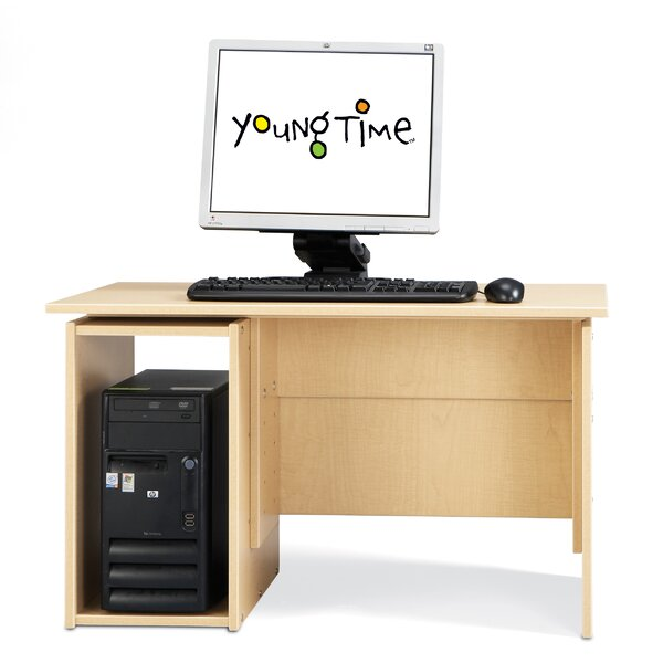 Wood 29 Student Computer Desk by Young Time