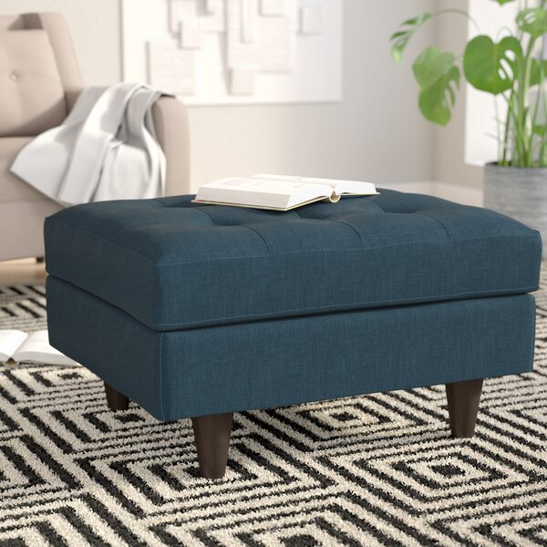 Review Warren Tufted Cocktail Ottoman