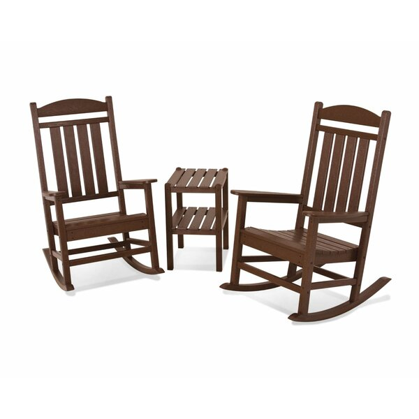 Presidential 3-Piece Rocking Chair Set by POLYWOOD®