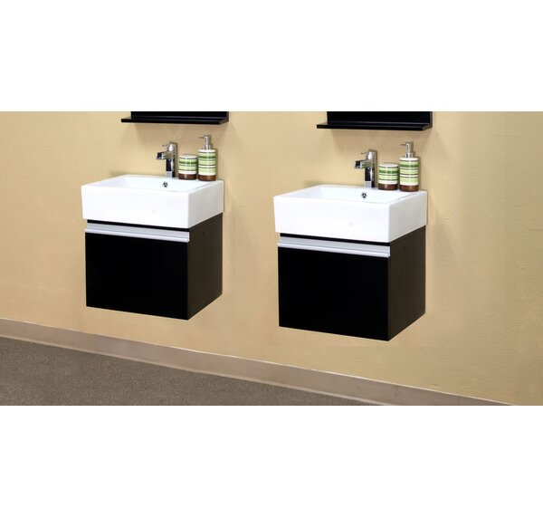 Mason 41 Double Bathroom Vanity Set by Bellaterra Home