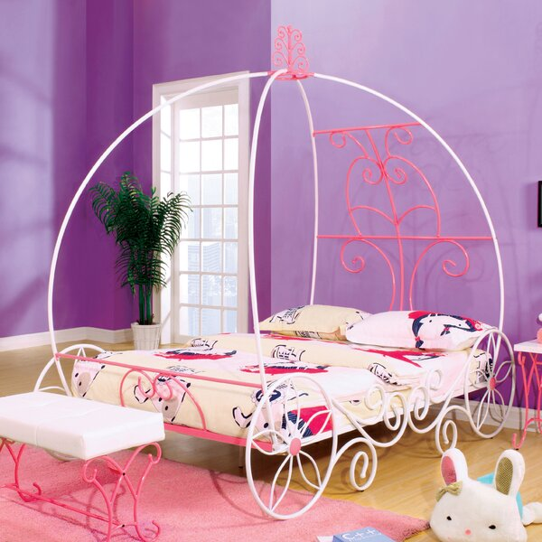 Guyette Princess-Style Full Canopy Bed by Harriet Bee