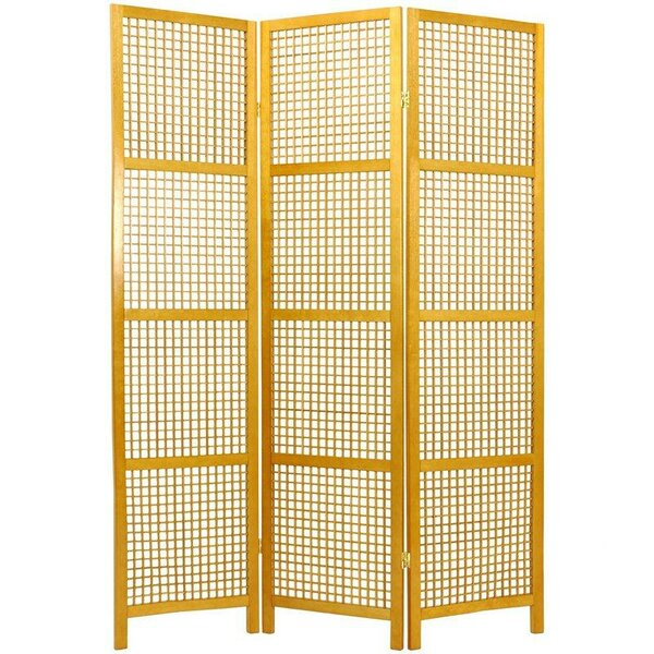 Stoehr Shoji 3 Panel Room Divider by Bay Isle Home