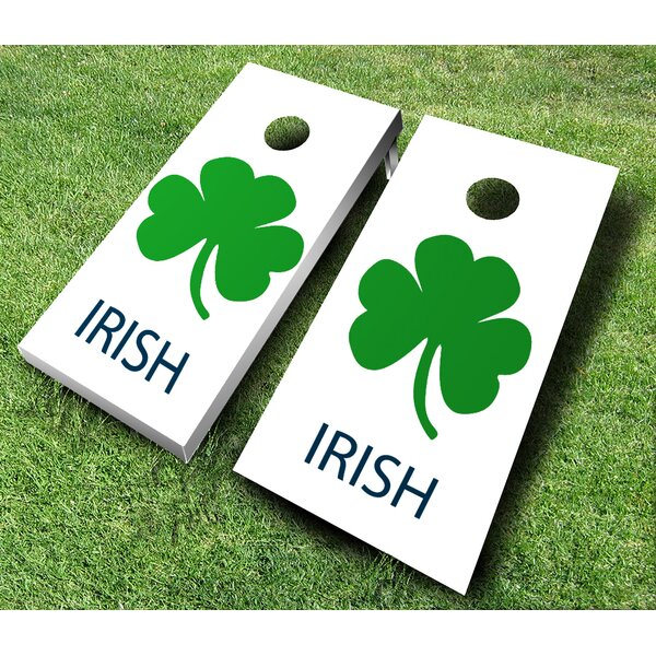 10 Piece Irish Cornhole Set by AJJ Cornhole