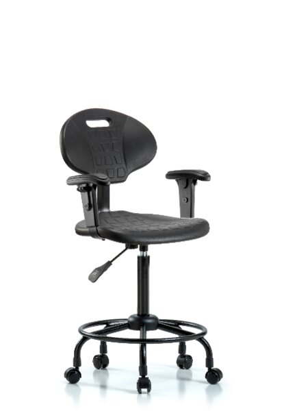Round Tube Base Ergonomic Office Chair by Blue Ridge Ergonomics