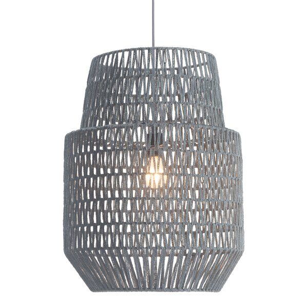 Cozumel 1-Light Foyer Pendant by Bay Isle Home