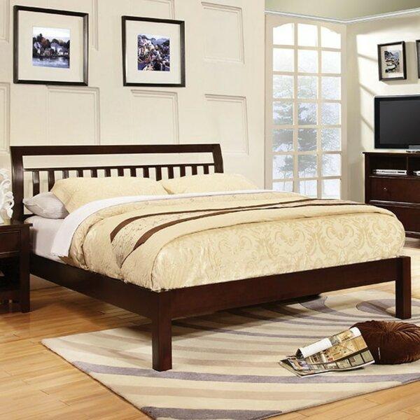 Chaparosa Slatted Headboard Sleigh Platform Bed by Ebern Designs