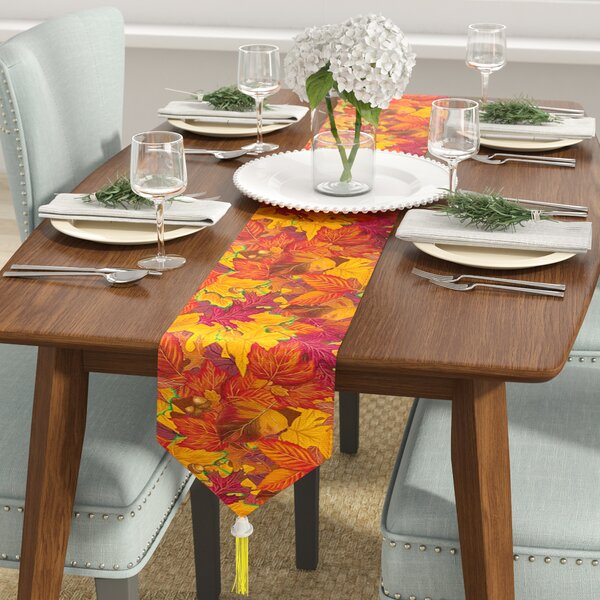 Fall/Thanksgiving Fall Leaf Table Runner by The Holiday Aisle