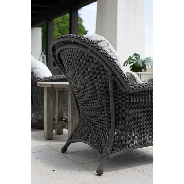Patio Chair with Cushion by Summer Classics