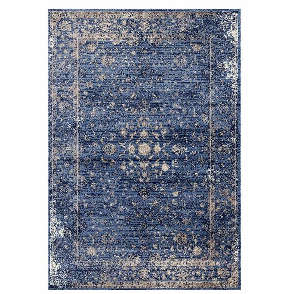 Josepha Vintage Blue/Beige Area Rug by Ophelia & Co.