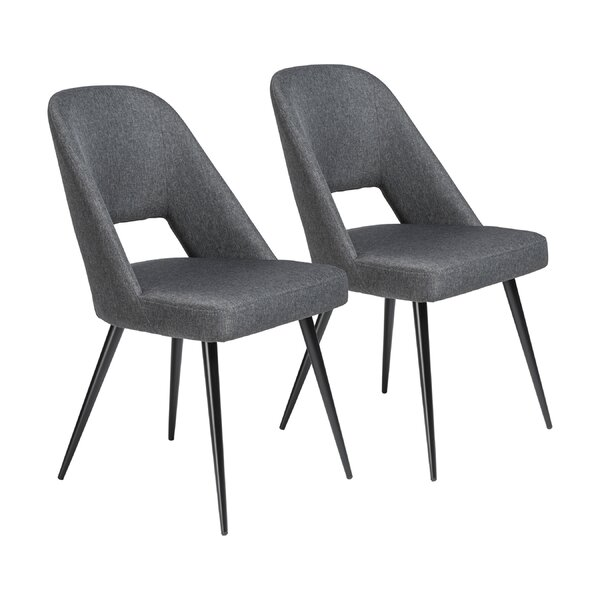 Obyrne Upholstered Dining Chair (Set of 2) by Brayden Studio