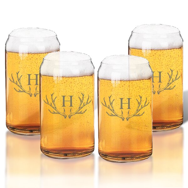 Maximo 16 oz. Beer Glass (Set of 4) by Union Rustic