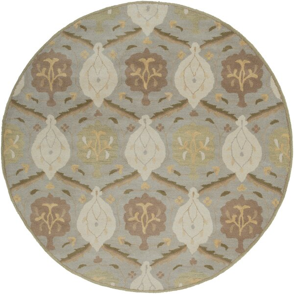 Keefer Olive Gray Area Rug by Charlton Home
