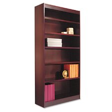 Square Corner 72 Standard Bookcase by Alera
