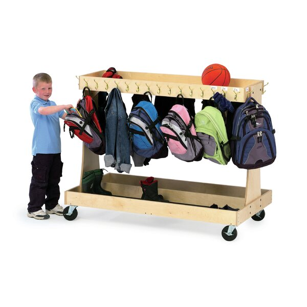 Double Sided Teaching Cart with Casters by The Children's Furniture Co.Double Sided Teaching Cart with Casters by The Children's Furniture Co.