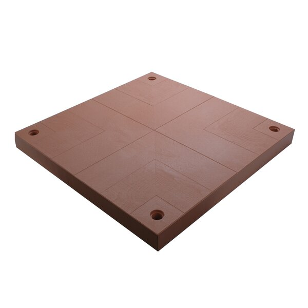 40 x 40 Composite Patio Interlocking Deck Tile by